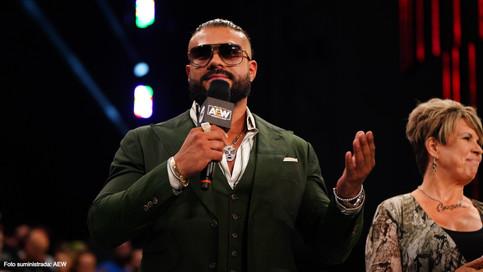 Andrade 'El Ídolo' en camino a ser la nueva cara de All Elite Wrestling