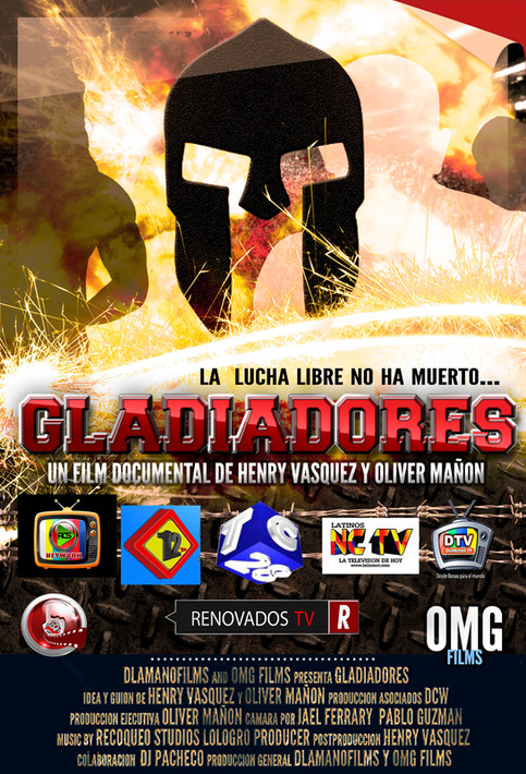 GLADIADORES: Un documental sobre la Lucha Libre Dominicana