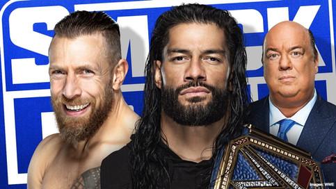 SmackDown: Roman Reigns a defender el Campeonato Universal ante Daniel Bryan el próximo viernes