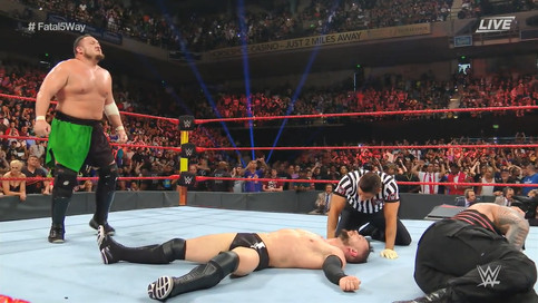 WWE Extreme Rules: Samoa Joe es el primer retador al Campeonato Universal