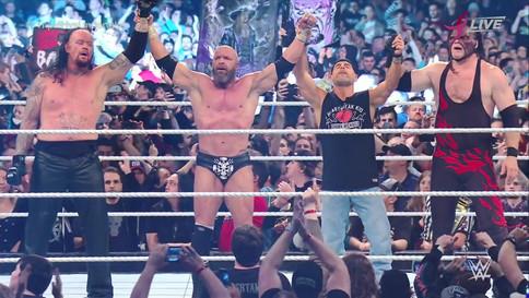 WWE con nuevo récord de asistencia en Australia en Super Show-Down; Undertaker y Triple H dan el tod