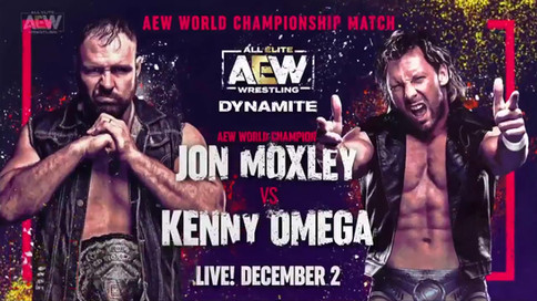 AEW: Moxley a defender el Campeonato Mundial ante Omega el 2 de diciembre en Dynamite
