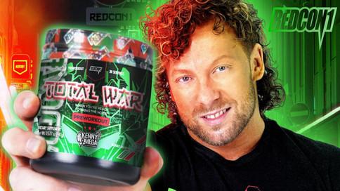 Kenny Omega lanza su línea de suplementos junto a la marca Redcon1