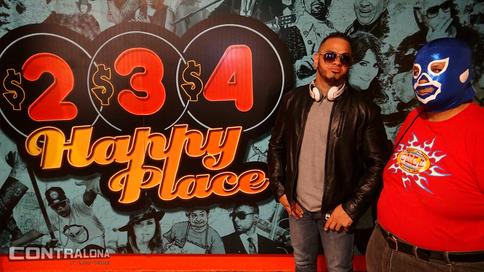 Entrevistas: Angel Cotto y Globo Humano en 234 Happy Place