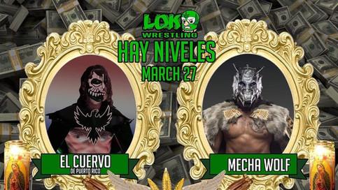 Historic match confirmed between El Cuervo de Puerto Rico and Mecha Wolf