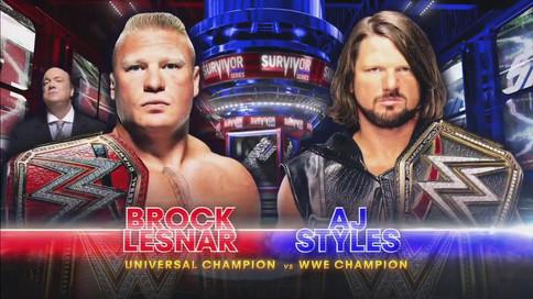 OFICIAL: Styles ante Lesnar en Survivor Series; Lo acontecido en SmackDown LIVE y 205 LIVE