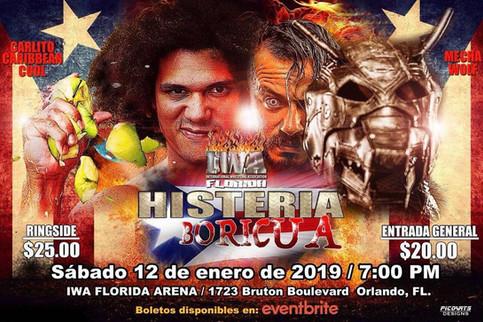 IWA FLORIDA: Se prepara la ciudad de Orlando para recibir la Histeria Boricua