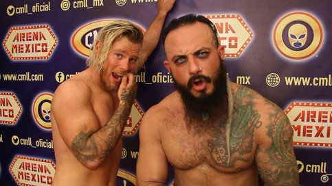 Mecha Wolf ve acción por primera vez en Arena México luchando para CMLL (VIDEOS)