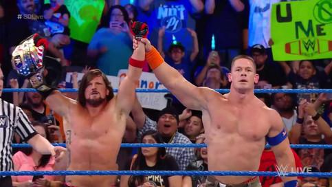 SmackDown LIVE: AJ Styles y su U.S. Title Open Challenge; Encuentro femenino para Battleground