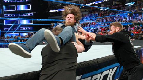 Martes de WWE: Bryan atacado por Owens y Zayn; Nuevos encuentros para WrestleMania; Mixed Match Chal