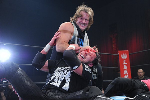 NJPW: Chris Jericho ataca a Kenny Omega en el evento World Tag League 2017