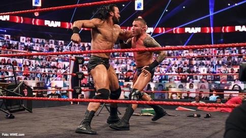 REVANCHA TITULAR: Randy Orton a defender el título de WWE ante Drew McIntyre el próximo lunes