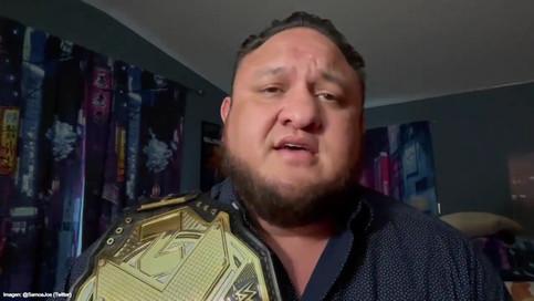 Samoa Joe fuera de NXT por lesión (VIDEO)