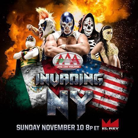 De regreso la Lucha Libre a El Rey Network este domingo, 10 de noviembre