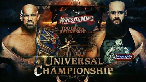 ÚLTIMA HORA: Goldberg a defender ante Braun Strowman en WrestleMania 36