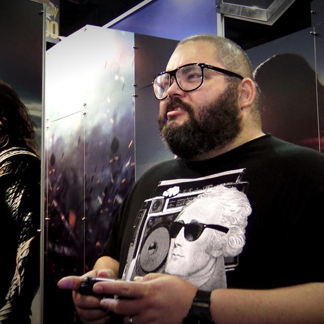 Chocky en los juegos de video de DC.