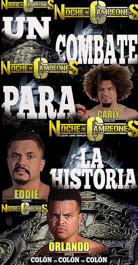 ¡Contralona y WWC te regalan 2 boletos para Noche de Campeones!