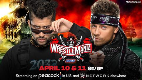 OFICIAL: Bad Bunny luchará contra The Miz en WrestleMania