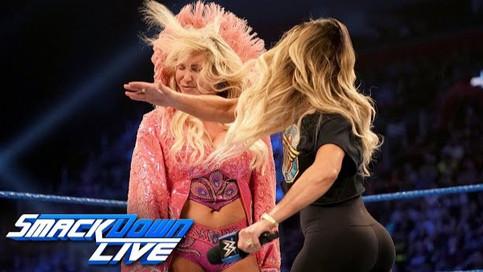 SmackDown LIVE: Stratus y Flair previo a SummerSlam; ¿Fue Erick Rowan el atacante de Roman Reigns? (