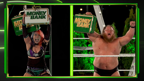 Asuka y Otis ganan el Money In The Bank desde el techo de las oficinas de WWE