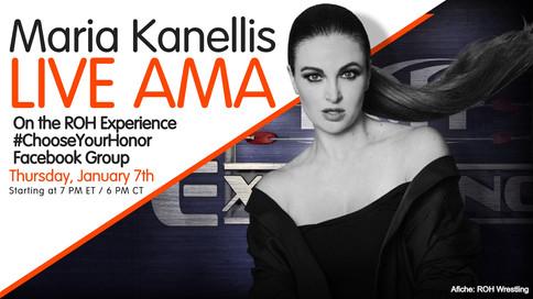 Maria Kanellis-Bennett Facebook Live Ask-Me-Anything