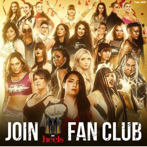 AEW HEELS lanza plataforma dinámica para fanáticas de la lucha libre femenina