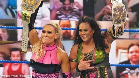 ÚLTIMA HORA: Natalya y Tamina Snuka se convierten en las NUEVAS Campeonas en Pareja de WWE