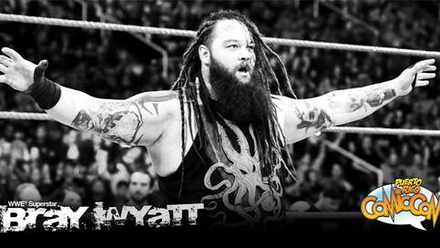 El nuevo Bray Wyatt estará presente en el anual Puerto Rico Comic Con