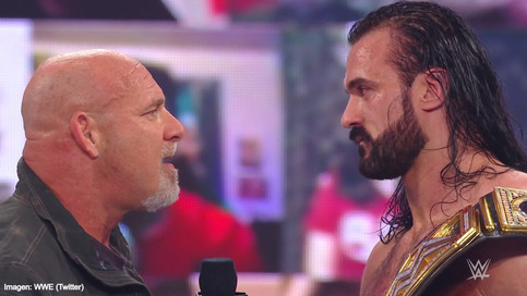 BREAKING: Goldberg challenges Drew McIntyre for the WWE Championship at Royal Rumble (VIDEO)