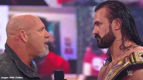 ÚLTIMA HORA: Goldberg reta a Drew McIntyre por el Campeonato de WWE en Royal Rumble (VIDEO)