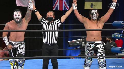DEBUT VICTORIOSO: Mecha Wolf y Bestia 666 ganan su primera lucha en NWA