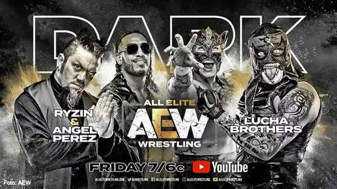 AEW DARK se pone DE MODA esta noche previo al evento All Out (VIDEO)