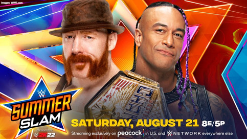 OFICIAL: Damian Priest retará a Sheamus por el Campeonato de los Estados Unidos en SummerSlam