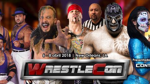 Estrellas boricuas e internacionales a presentarse en grande en WrestleCon 2018