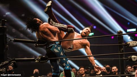 Omega y Danielson hicieron magia sobre el cuadrilátero en AEW Dynamite: Grand Slam (VIDEO)
