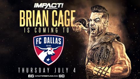 IMPACT Wrestling se asocia con el equipo FC Dallas de la Major League Soccer (MLS)