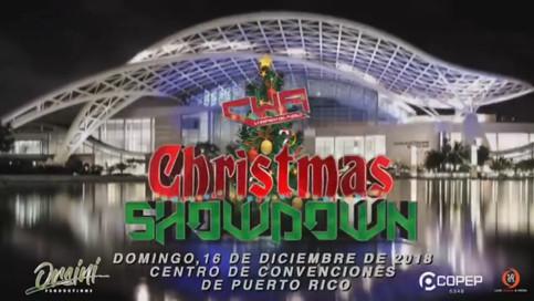 CWA a celebrar Christmas Showdown en el Centro de Convenciones de Puerto Rico; Lo acontecido en Summ
