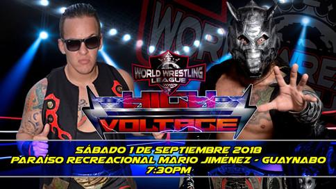 WWL High Voltage LIVE: BJ vs. Mecha Wolf por el título mundial; Cartelera completa (VIDEOS)