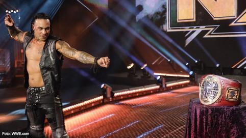 Puertorriqueño busca ser el nuevo Campeón de Norteamérica en WWE NXT