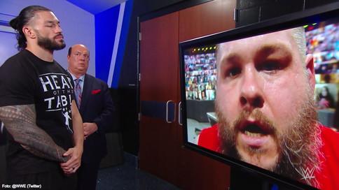 SmackDown: Kevin Owens le exige RESPETO a Roman Reigns; Jey Uso paga las consecuencias