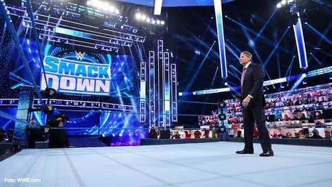 WWE deja caer un TRUENO con su nueva producción virtual en SmackDown