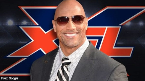 The Rock anota un touchdown con la XFL