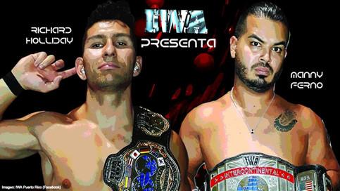 IWA: Holliday y Ferno a defender campeonatos en Impacto Total; Chicano en Silla Caliente y más