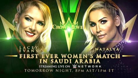 ÚLTIMA HORA: WWE a celebrar el primer encuentro femenino en Arabia Saudita (VIDEOS)