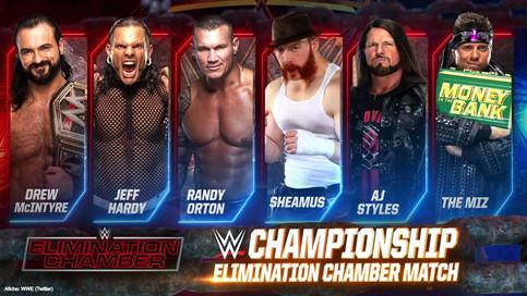ÚLTIMA HORA: Drew McIntyre defenderá el Campeonato de la WWE dentro de Elimination Chamber