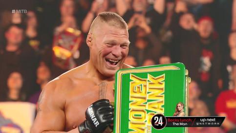 WWE Money In The Bank: Lesnar gana lucha de escaleras, Bayley sorprende, Mysterio obtiene nuevo títu