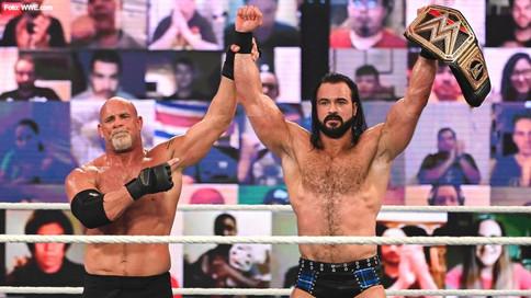 HISTÓRICA VICTORIA: McIntyre derrota a la leyenda Goldberg para retener el Campeonato de WWE