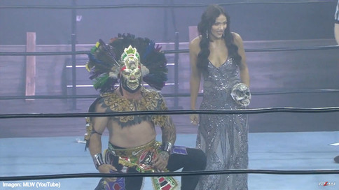 Outstanding Mil Muertes' debut in MLW Fusion with Salina de la Renta (VIDEO)