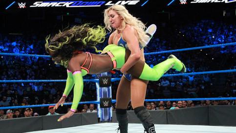 SmackDown LIVE: Charlotte Flair tras el oro femenino; Rusev derrota a Orton en segundos; Regresa Sha
