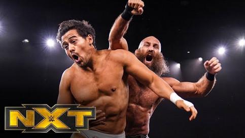 NXT: Ciampa derrota a Garza; Priest vs. Dunne en la estelar; Regresa Tegan Nox y más (VIDEOS)